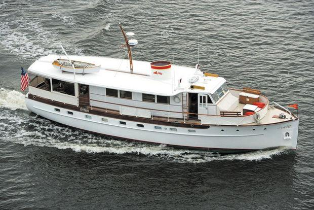 The Washingtonian is a genuine Trumpy, built in 1939.