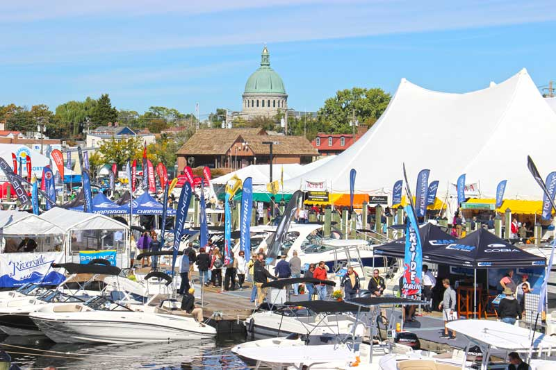 For boaters, this show is like Christmas in October. Photo by PropTalk