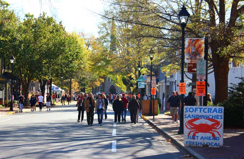 The Waterfowl Festival is one of Easton's most popular events.