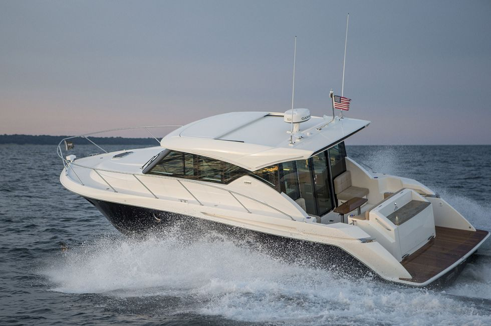 The Tiara 39 Coupe. Courtesy North Point Yacht Sales