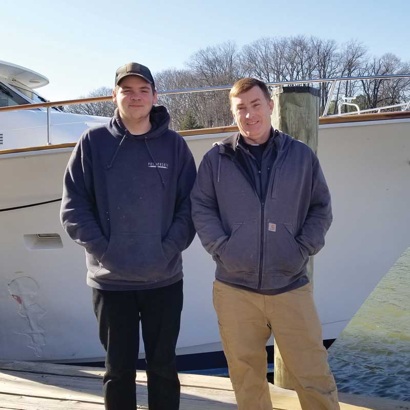 Marine Trades Association of Maryland On-the-Job Trainee Success