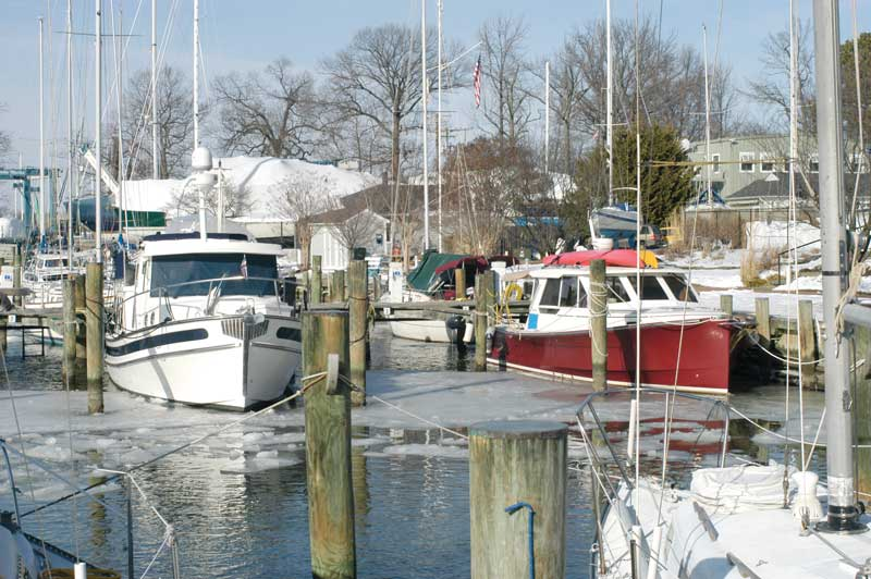 If you keep your boat in the water over the winter, you should consider using a bubbler to protect the hull.