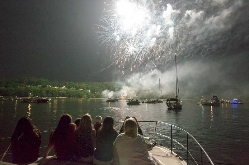 2019 Fourth Of July Fireworks On The Chesapeake Bay Proptalk