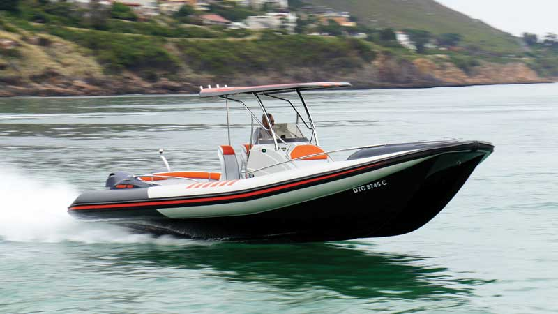 If you're looking for a chase boat, a high-end yacht tender, or even just a large RIB to knock around in, the Hysucat should be a must-see.