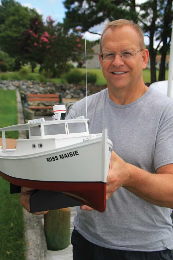 The model workboat business was just what the doctor ordered for this type-A Eastern Shore entrepreneur.
