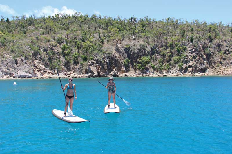 Will you opt for paddleboards or kayaks onboard?