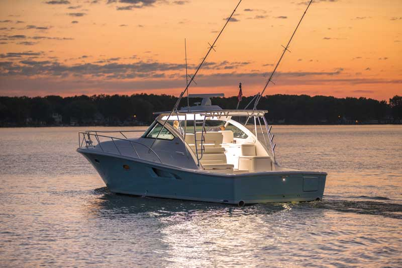 The Tiara 43 Open is a fishing machine, as well as a comfortable cruiser.