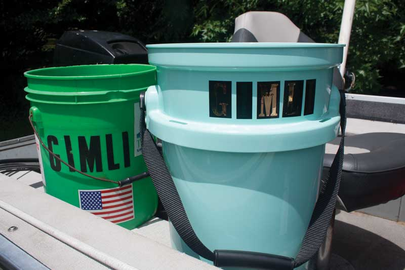 five-gallon bucket