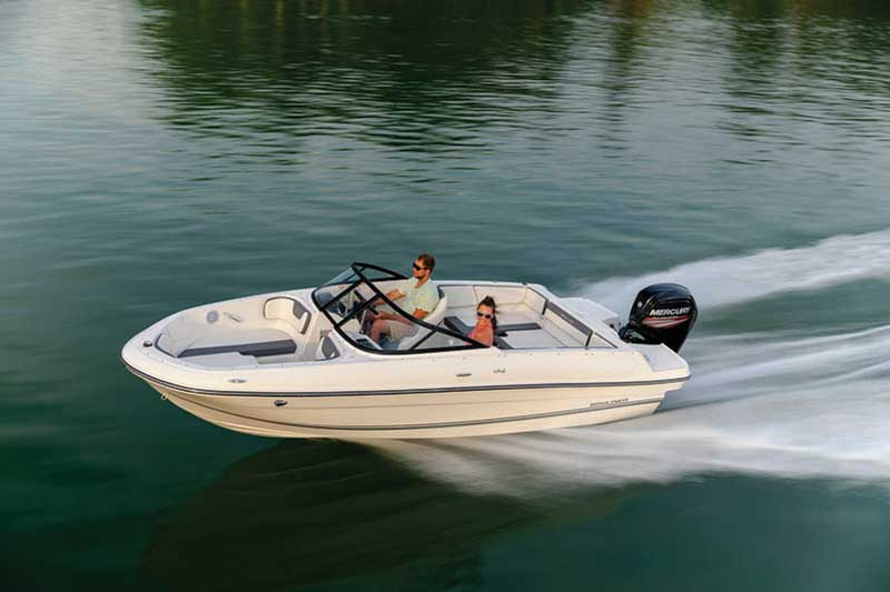 The Bayliner VR4 is one brand new bowrider that just about anyone can afford.