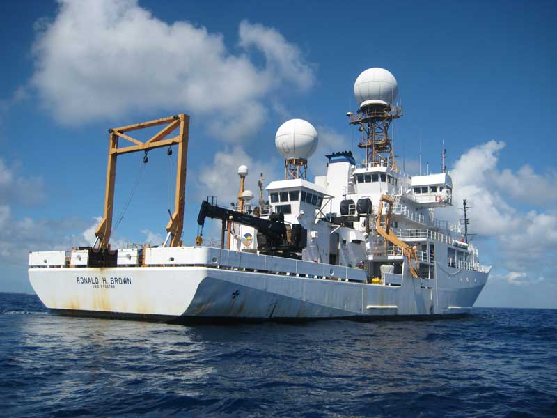 NOAA research vessel Ronald H. Brown. Courtesy NOAA