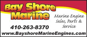 Bay Shore Marine has Marine Engine Sales, Parts, Service, serving Maryland, Delaware and Virginia