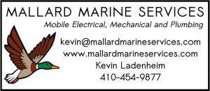 Mallard Marine Services is a professional ABYC Certified mobile marine repair along the Maryland portion of the Western Chesapeake Bay.