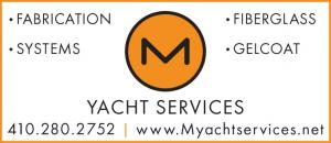 M Yacht Services is a full marine rigging, fabrication and mechanical services company located in Annapolis, MD.