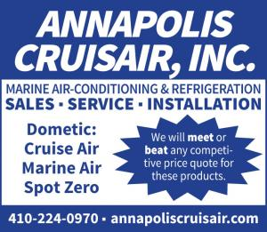 Annapolis Cruisair is a Marine refrigeration and air-conditioning company that provides sales, service, and installation.