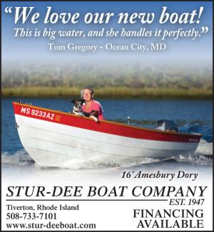 Stur-Dee Boat Company located in Rhode Island has financing available on their wooden boats.