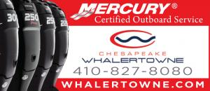 Chesapeake Whalertowne is Mercury Certified Outboard Service in Grasonville and Annapolis.