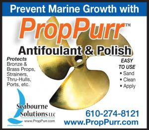 Seabourne Solutions sells PropPurr Antifoulant and Polish that prevents marine growith.
