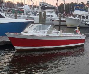 chris-craft sea skiff