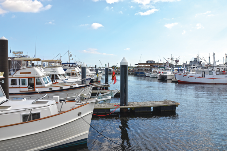 TrawlerFest has been held in Baltimore in years past; this year, look for it happening at Bay Bridge Marina in Stevensville, Md. Same gorgeous boats, different venue.