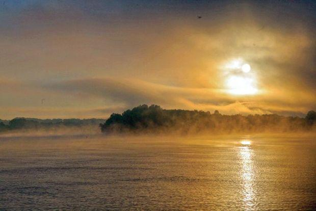 Morning fog on the Tenessee River. Photo by Phillip Kent Barbalace
