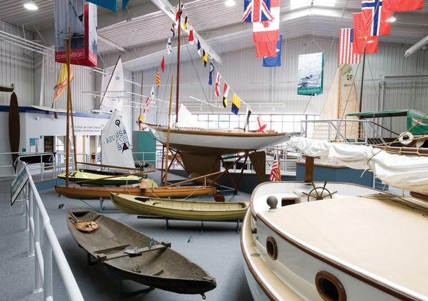 The International Small Craft Center at the Mariners' Museum in Newport News. Photo courtesy of the Mariners' Museum