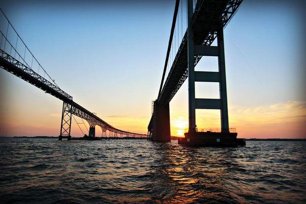 Could the Chesapeake get another Bay Bridge in the future? Photo by Cindy Wallach