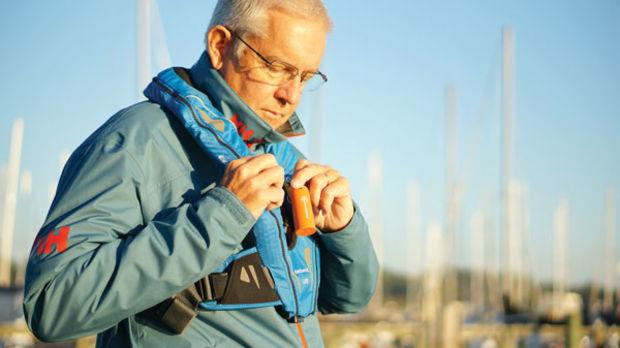All you do is clip the keychain-sized beacon to your lifejacket or to your dog's collar.