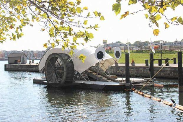 Mr. Trash Wheel, the one that started it all.