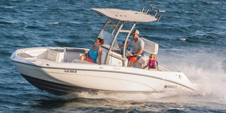 Boat Review: Yamaha 210 FSH | PropTalk