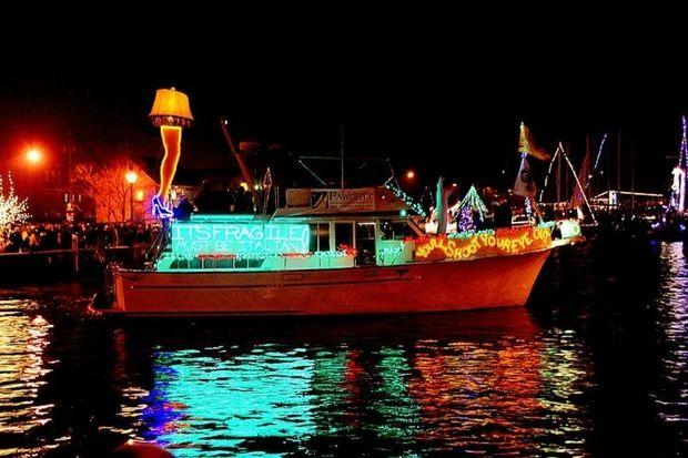 Eastport YC Lights Parade. Photo by Julianna Degraw Fettus